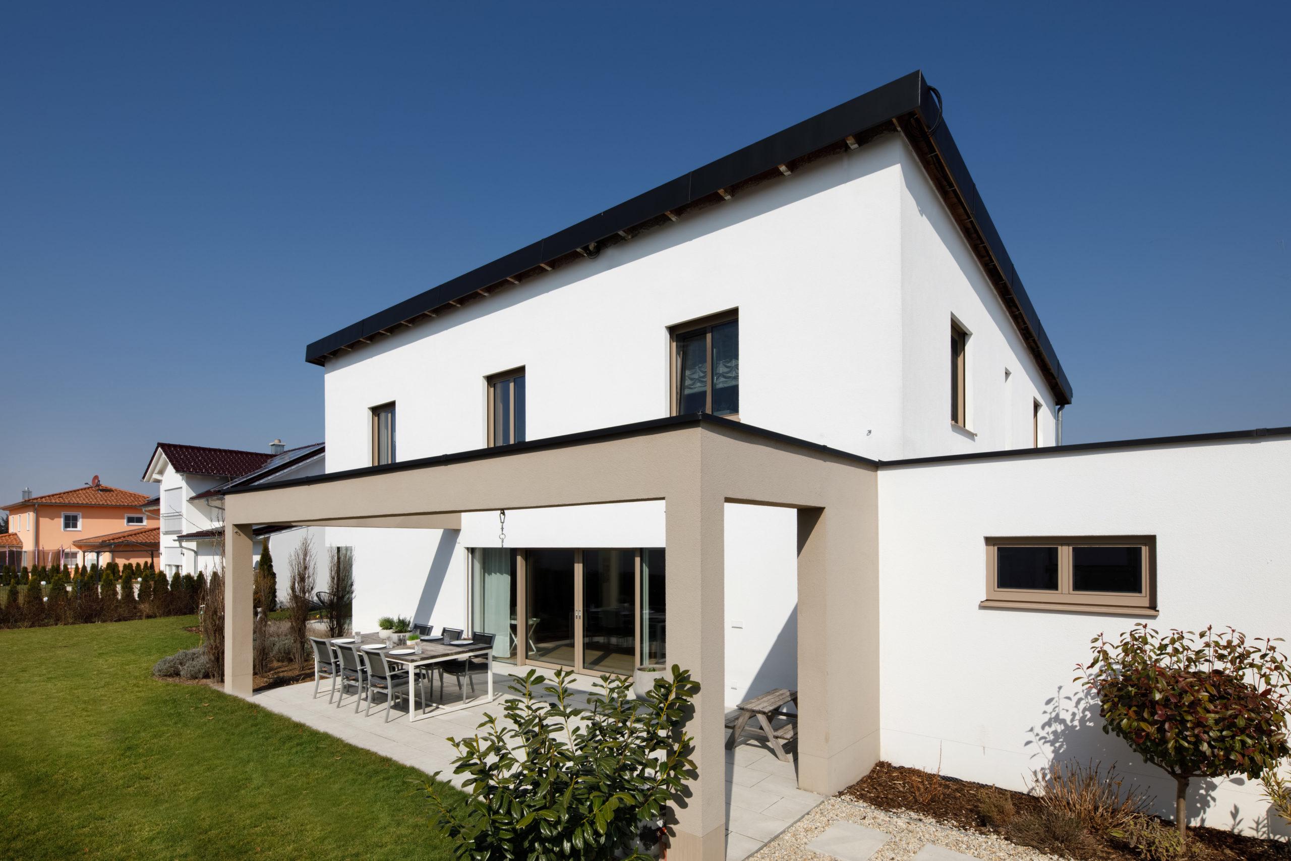 Immobilienfotografie-Haus