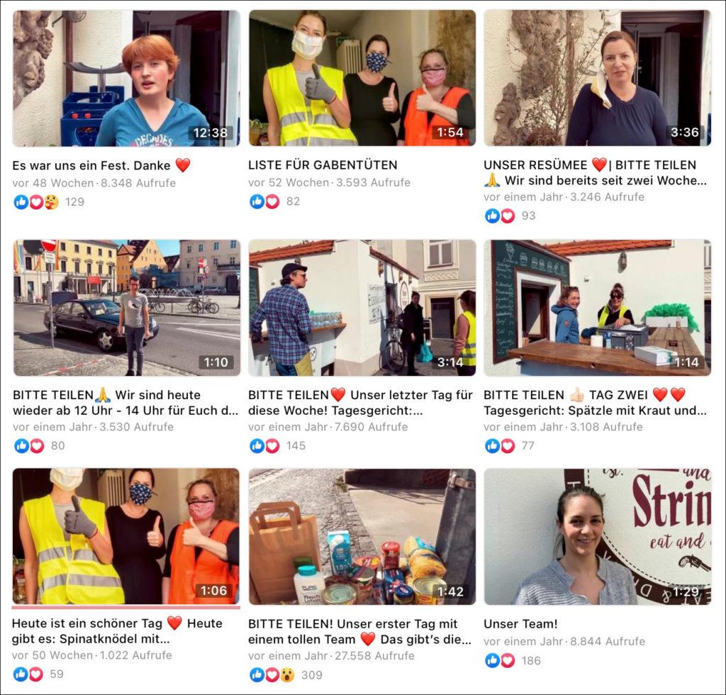 Die Reichweite von unseren Facebook Videos beim Video Marketing