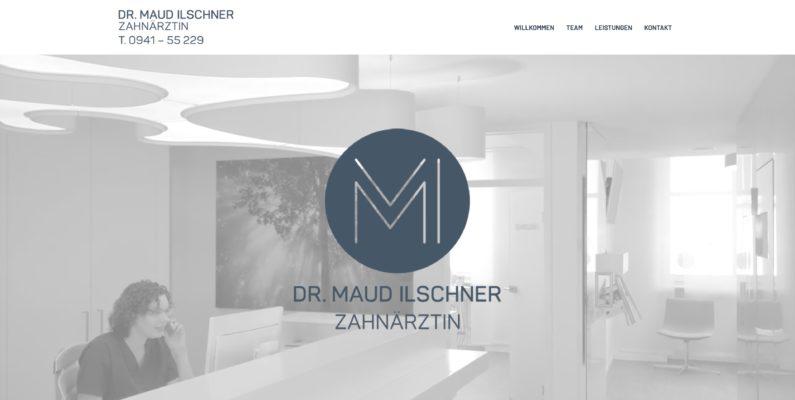 Launch von https://www.zahnaerztin-ilschner.de